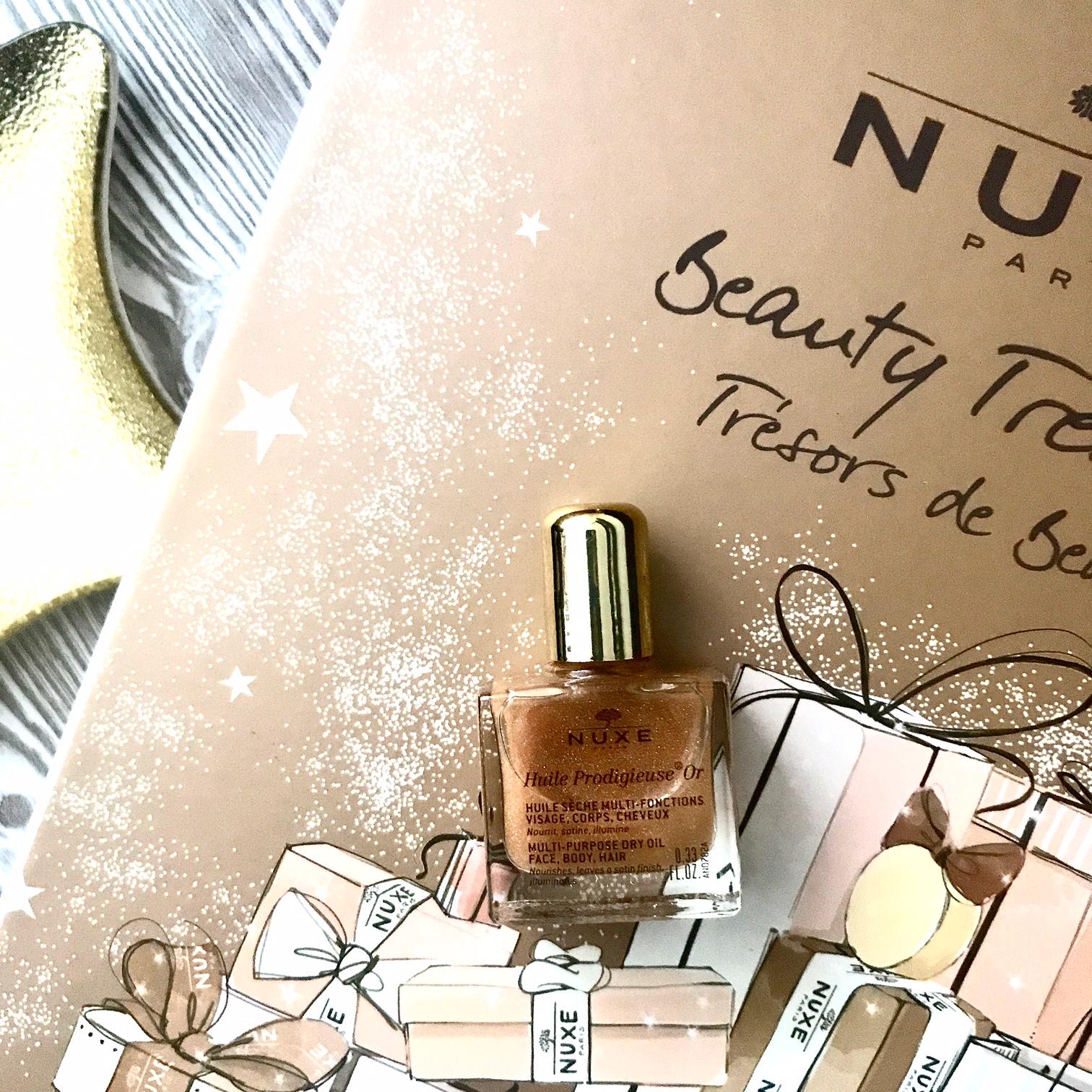 zdjęcie przedstawiające Nuxe Huile Prodigieuse OR olejek suchy w sprayu