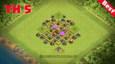 1# - Formasi Base TH 5 Defense Hybrid