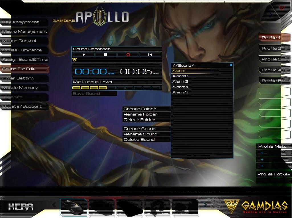 Gamdias Apollo Extension Optical Gaming Mouse 73