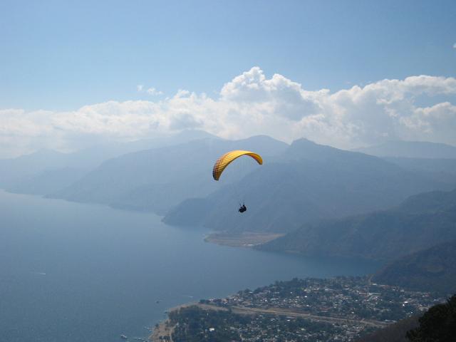 paragliding Panajachel Lake Atitlan Guatemala Real World tandem