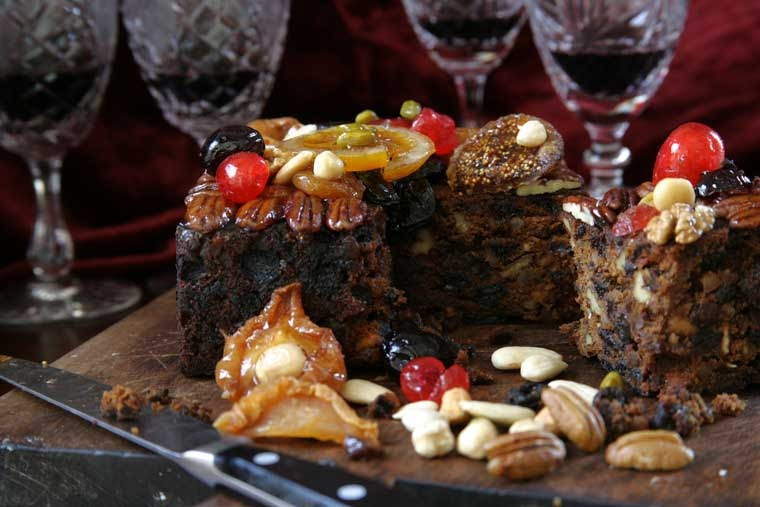 Simple Cake Recipes In Microwave Oven: Christmas Cake Recipe In Microwave Preparation Ideas