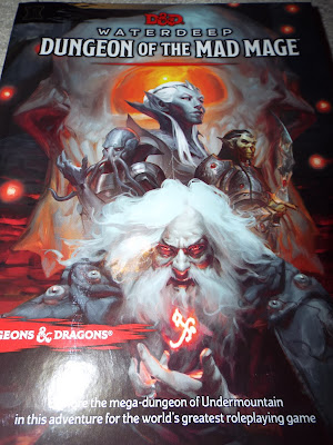 Dungeon of the Mad Mage cover.