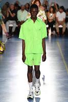 look masculino verde neon tendencia masculina verao 2019