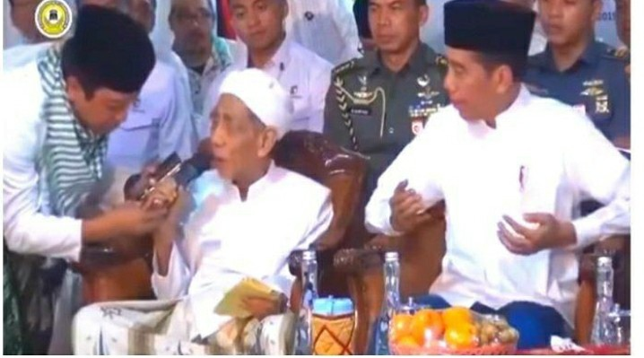 Soal Doa Kiai Moen,  Romy PPP: Kau Terjemahkan Doa Tanpa Nahwu Shorof