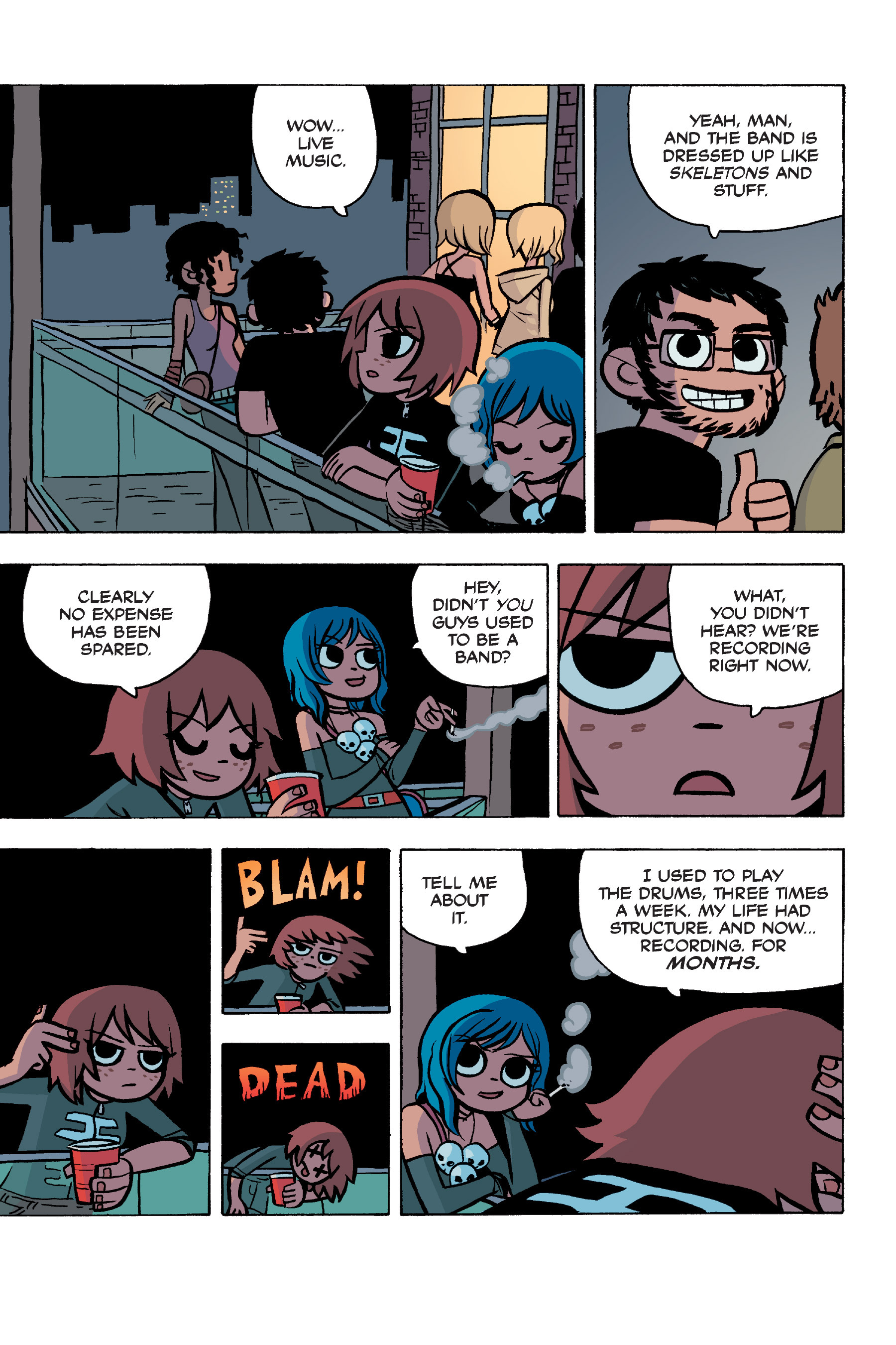 Read online Scott Pilgrim comic -  Issue #5 - 18