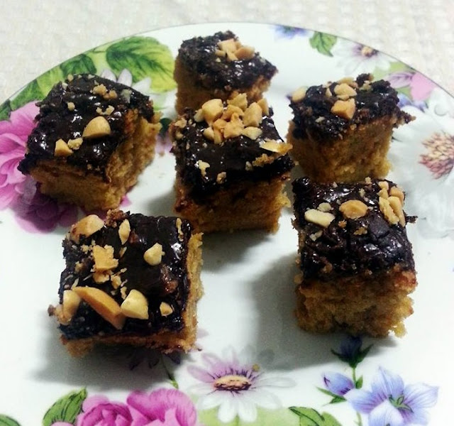 Chewy Peanut Bars