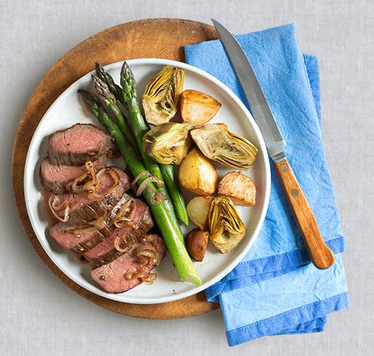 Lisa mende design blue apron meals for Turkey hash recipe barefoot contessa