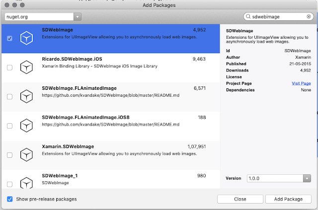 Xamarin iOS: Loading UIImageView with Url, SDWebImage