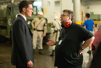 Guillermo del Toro and Michael Shannon on the set of The Shape of Water (3)