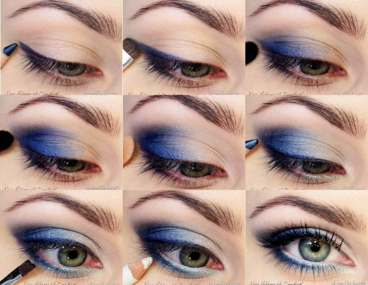 Here some easy tutorials have given that can ease you in your passion of eye make-up.