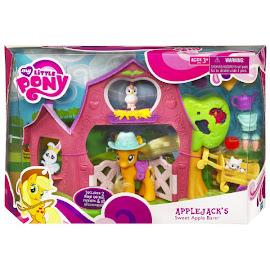 My Little Pony Sweet Apple Barn Applejack Brushable Pony