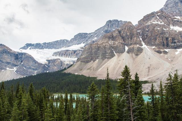 Gletscher Rocky Mountains