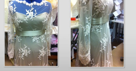 Art Deco Wedding Gowns: P's Thrifty Sewing, Cooking, Chicken Keeping Blog: My Art