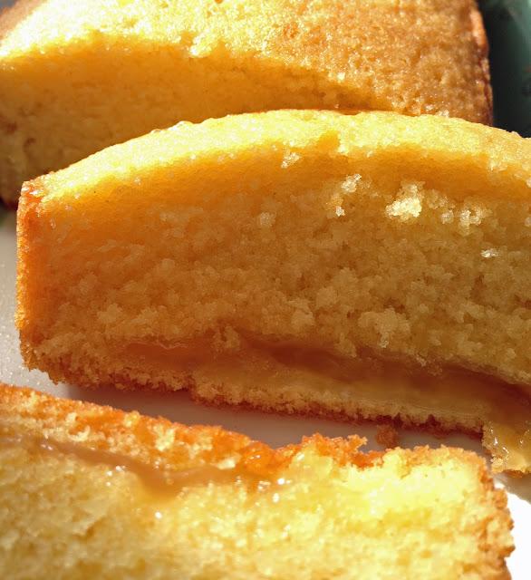 quatre-quart, cake, citron, lemon curd,gâteau