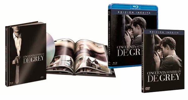 DVD - Blu-ray 50 sombras de Grey