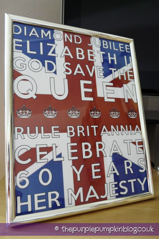 Diamond Jubilee Subway Art | Free Printable