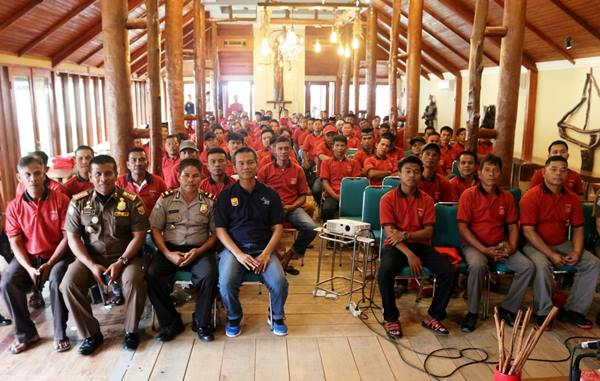 Jelang Pilwako, Seluruh Dubalang Pariaman Terima Pelatihan