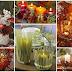 Διακοσμητικά κεριά - ιδέες και θεαματικές ρυθμίσεις