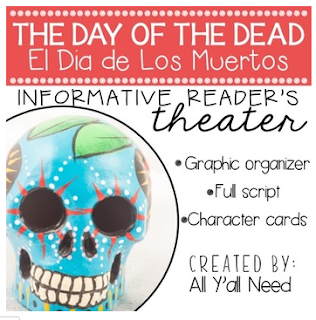 Day of the Dead Reader's Theater by All Y'all Need