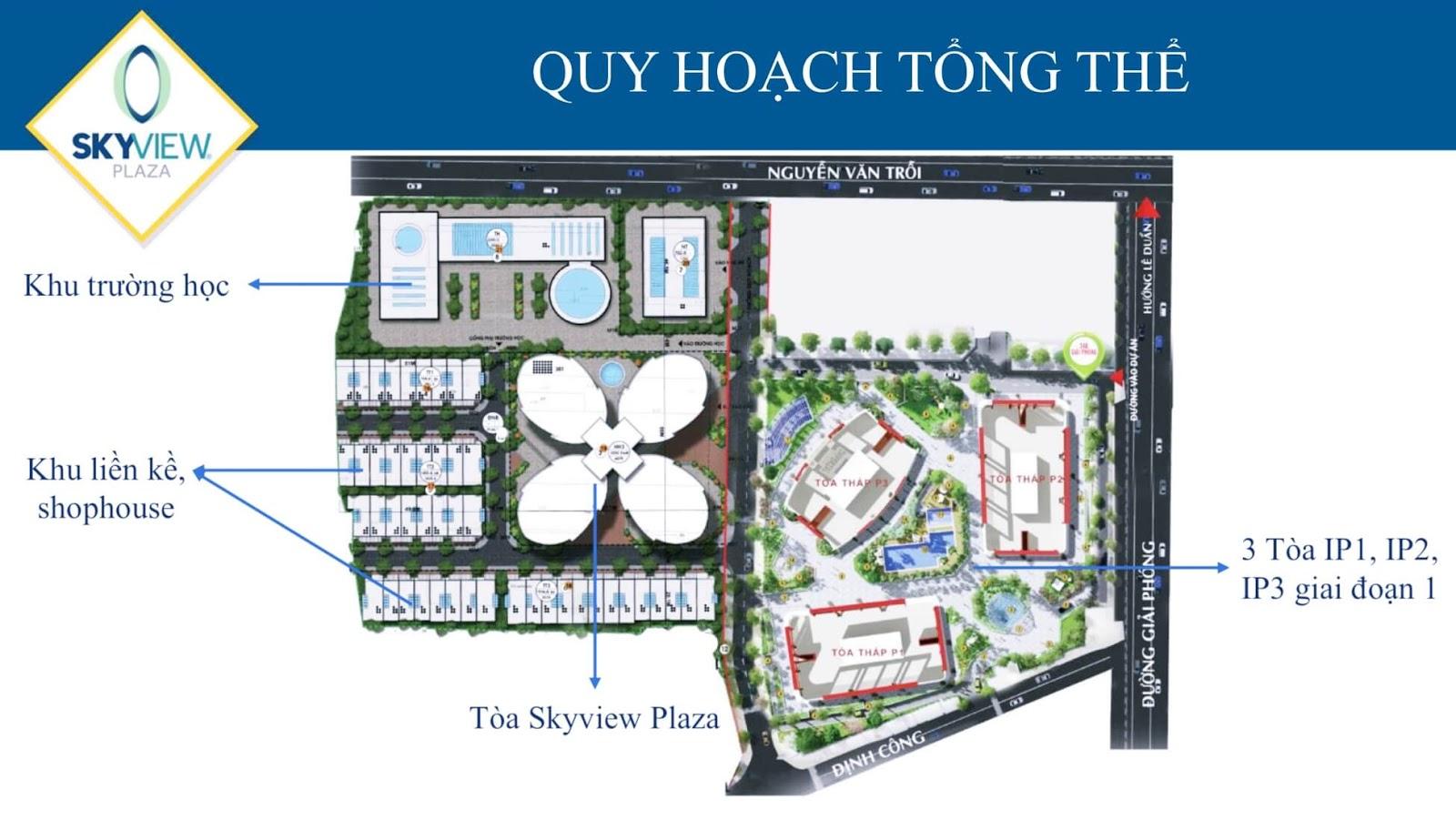 Quy hoạch tổng thể dự án Imperial Plaza