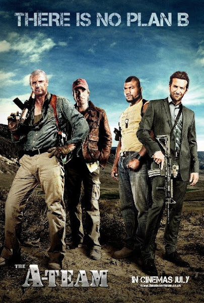 Poster of The A-Team Extended 2010 720p Hindi BRRip Dual Audio Full Movie Download