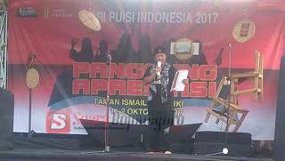 Hari Puisi Indonesia 2017: Dari Sayembara Buku Puisi, Parade Puisi hingga Siapkan Biografi Penyair