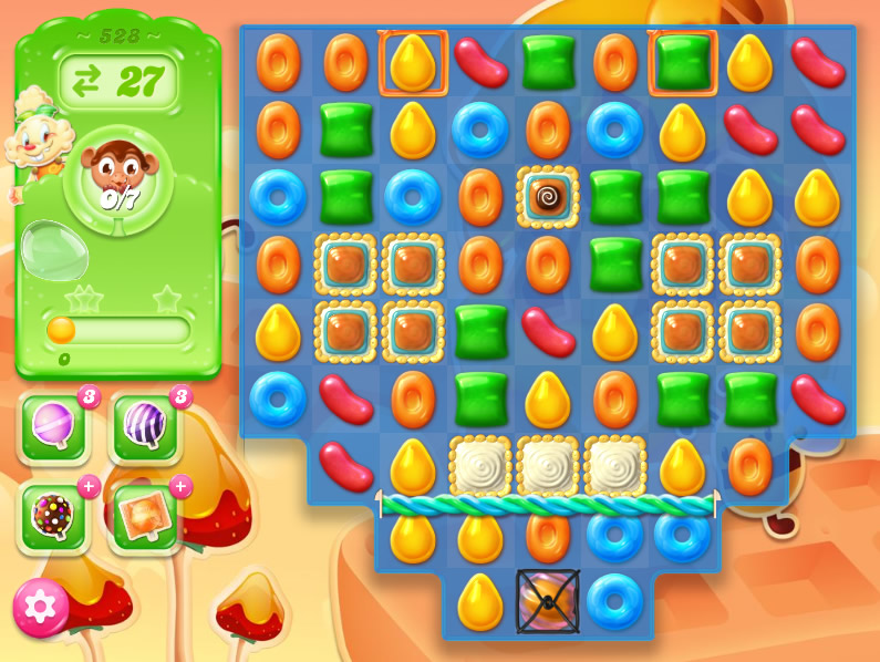 Candy Crush Jelly Saga 528