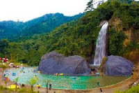Air Terjun Bidadari | wonderful Indonesia