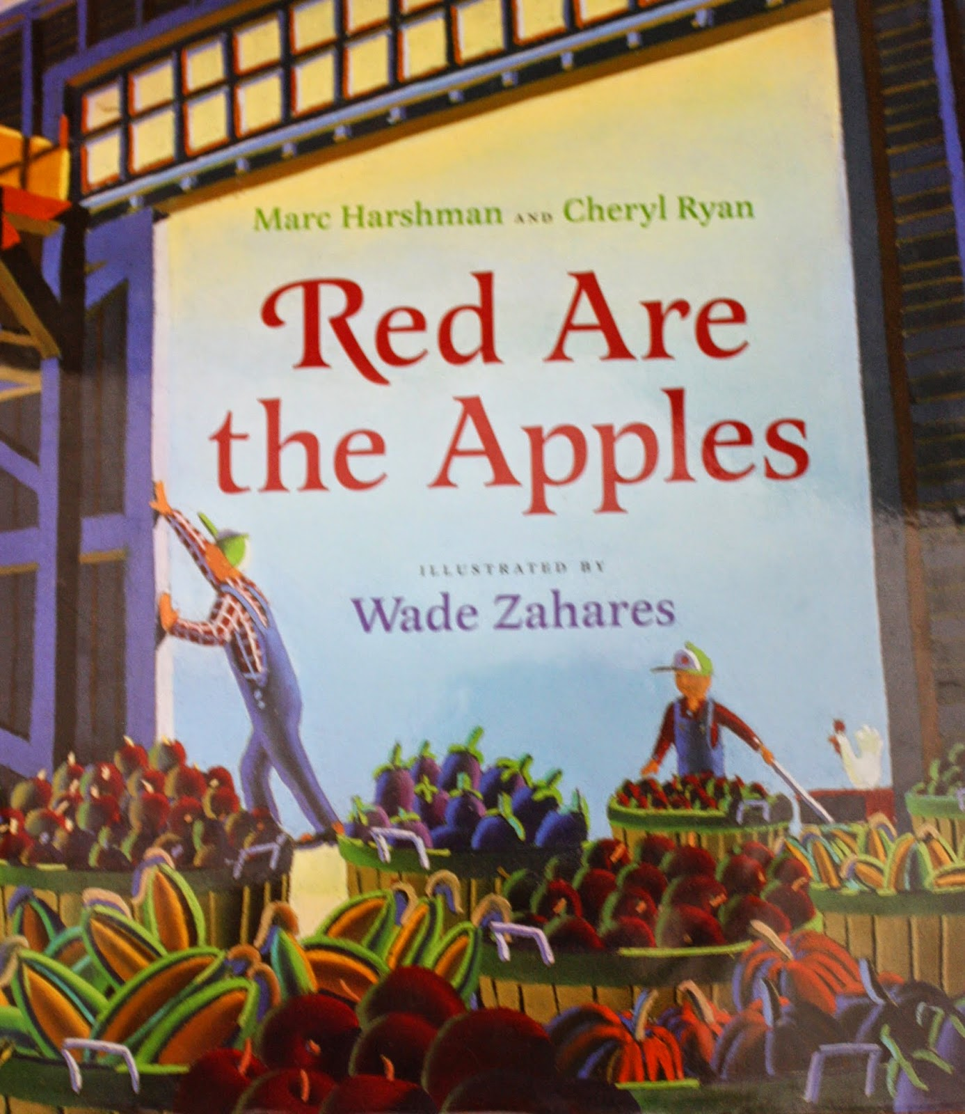 http://www.amazon.com/Red-Are-Apples-Marc-Harshman/dp/0152060650/ref=sr_1_1?ie=UTF8&qid=1411511563&sr=8-1&keywords=Red+are+the+apples