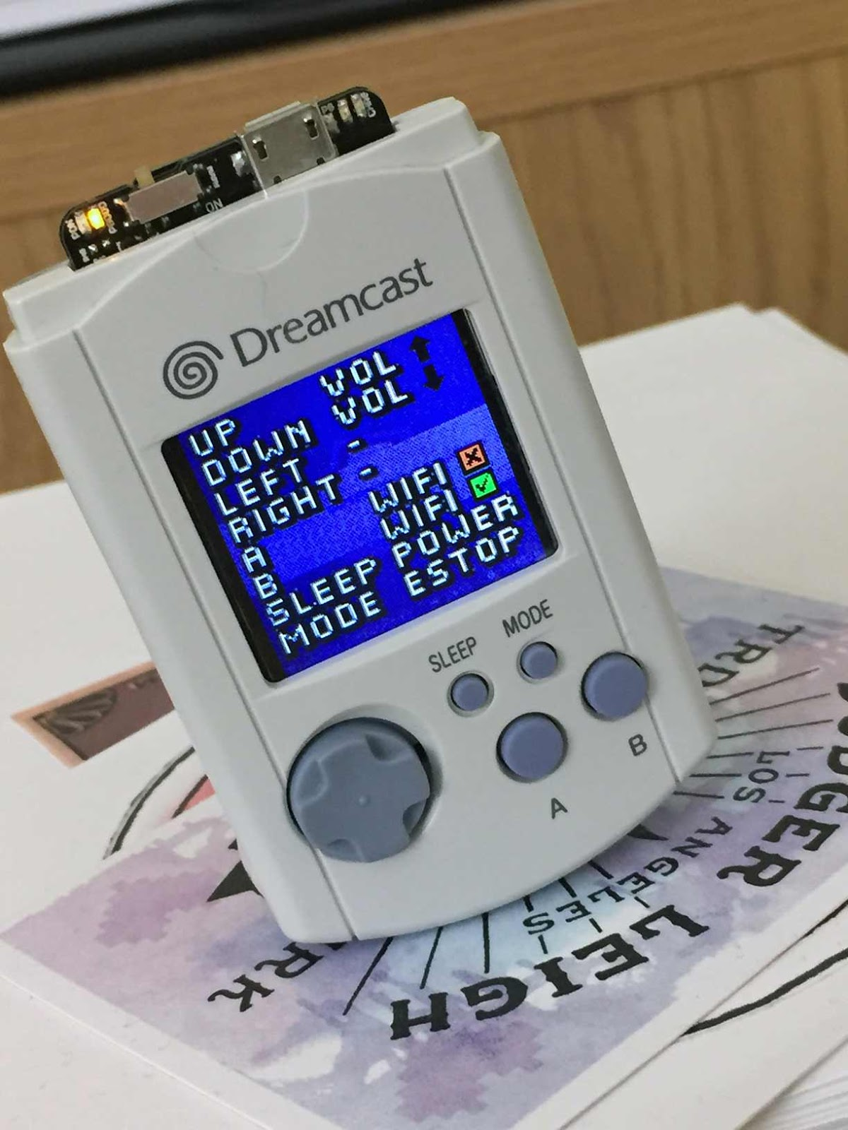The Dreamcast Junkyard: Introducing VMU-boy - A RetroPie