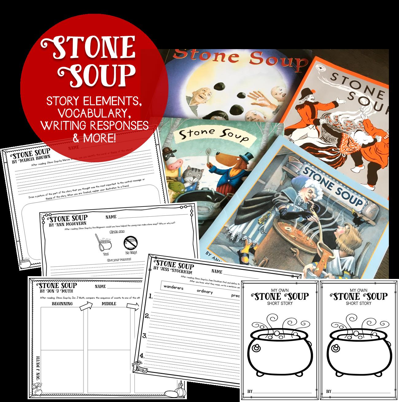 Susan Jones Teaching Stone Soup A Literacy Amp Community Unit