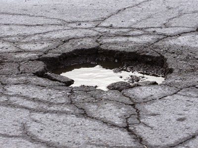 4 Tactics for Dealing with Potholes