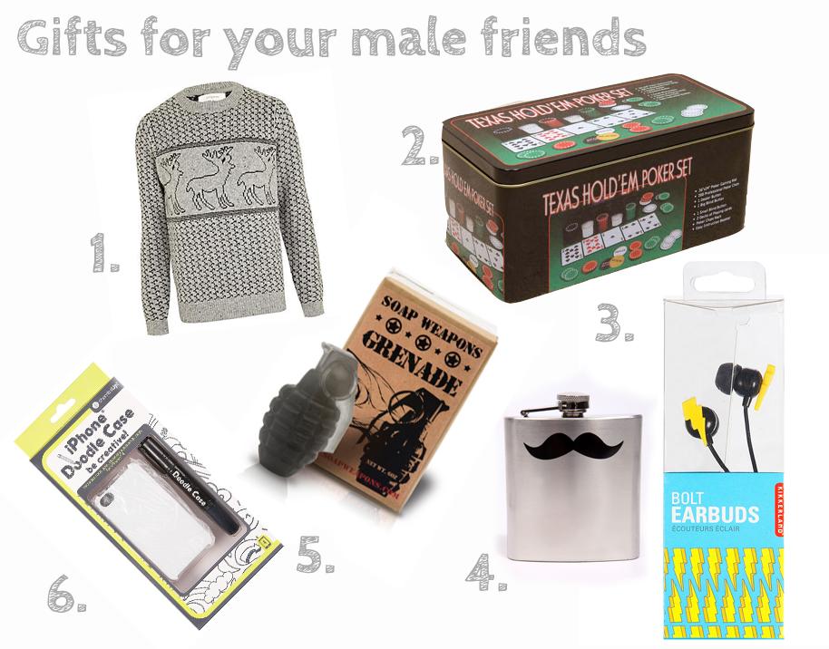 Gift Guide Male And Female Friends Heyamyjane