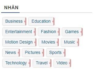 Tùy biến tiện ích nhãn đẹp cho blogspot