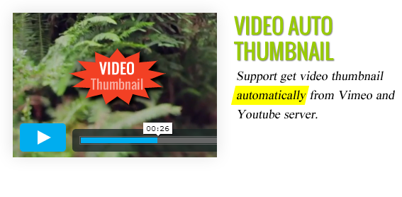 Video Auto Thumbnail - Maginess – Flexible Magazine WordPress Theme