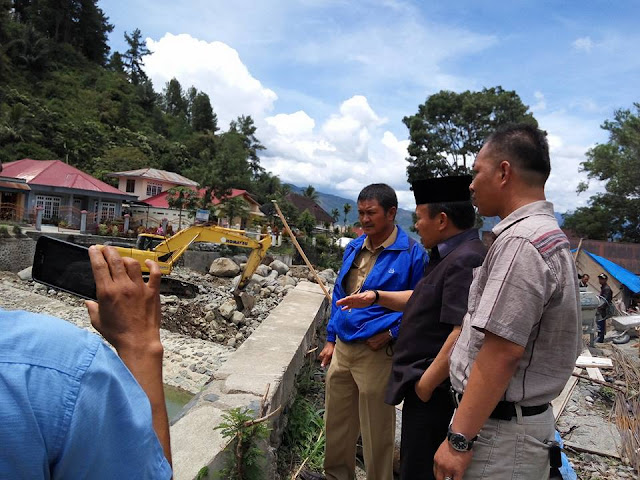 Wow,,, Ada Apa, Dewan Minta Proyek Sungai Bungkal Dihentikan Pengerjaannya