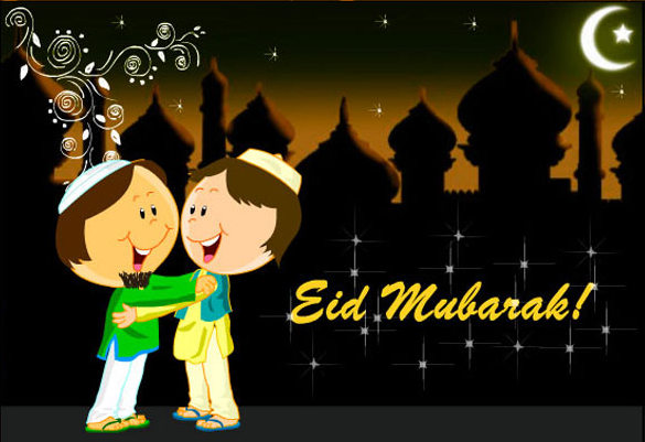 Happy Eid 2017 SMS | Great Enjoyable Eid Mubarak SMS