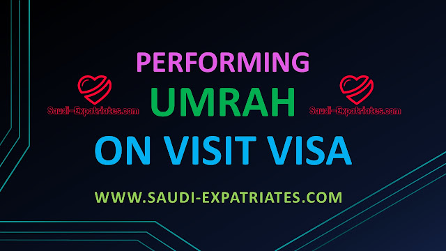 Performing Hajj Umrah on Family Visit Visa Saudi