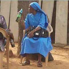 a christian sister and woman drinking alcoholic drinks
