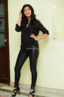 Shruti Haasan Looks Stunning trendy cool in Black relaxed Shirt and Tight Leather Pants ~ .com Exclusive Pics 011.jpg