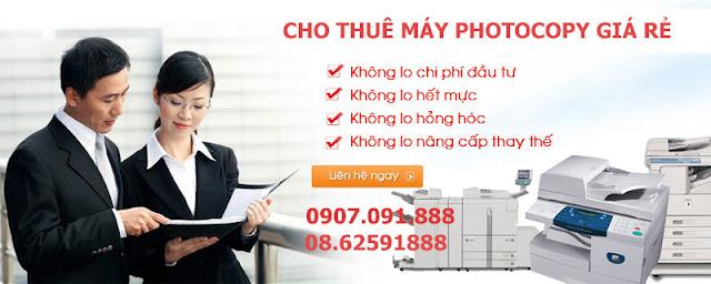 Cho Thue May Photocopy Toshiba chinh hang gia re