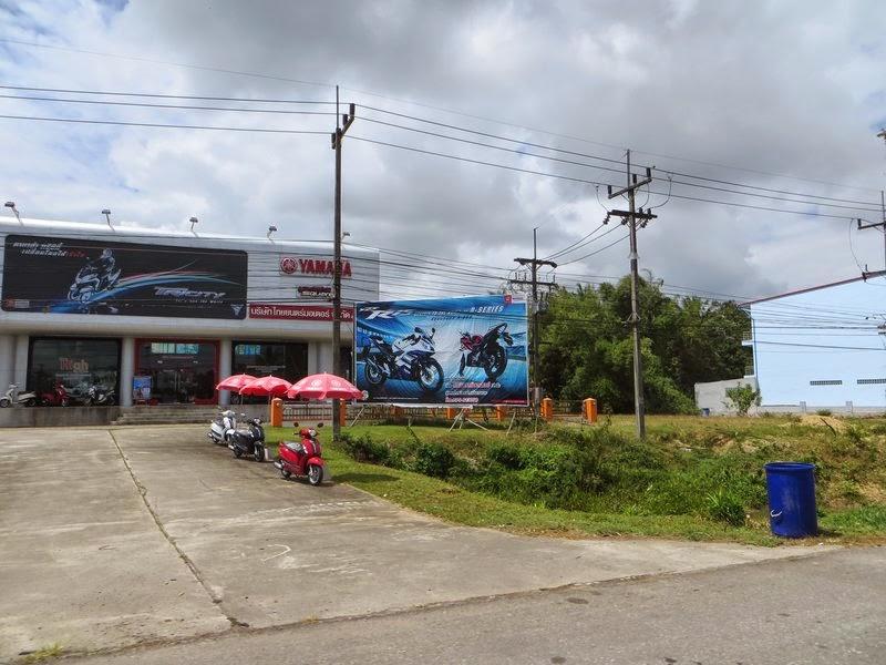 Мотосалон Yamaha Таиланд