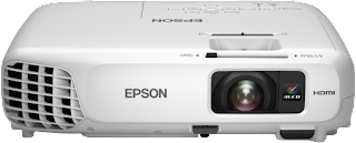 you lot tin endure the projectors to represent interactive meetings Download Epson EB-X24 Drivers