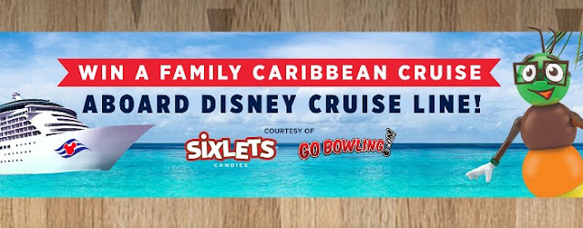 Sixlets Disney Caribbean Cruise Sweepstakes