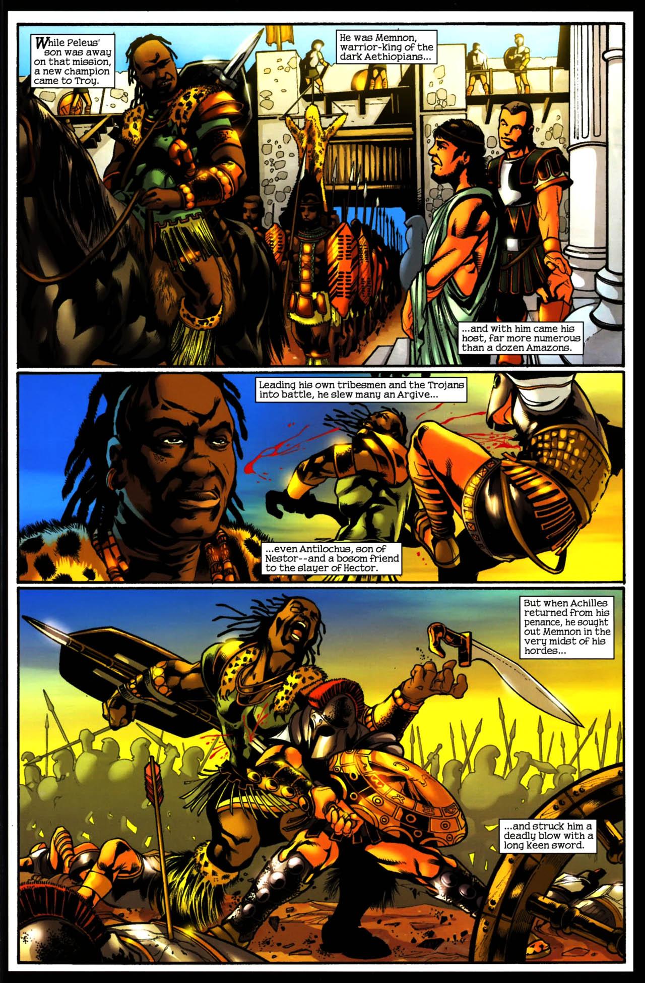 Read online Trojan War comic -  Issue #3 - 18