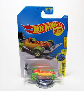 Hot Wheels Hot Dog Car