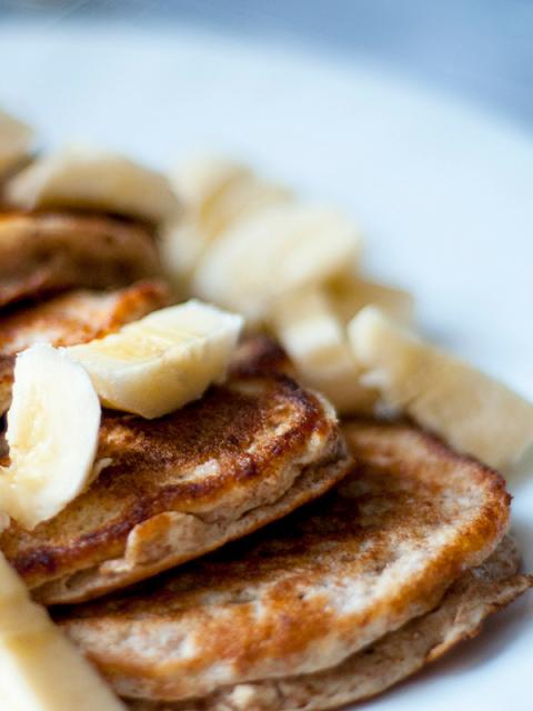 Easy Gluten-Free Banana Pancakes - Ioanna's Notebook