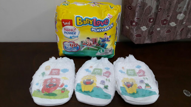 Baby Love Playpants Nano Power Plus