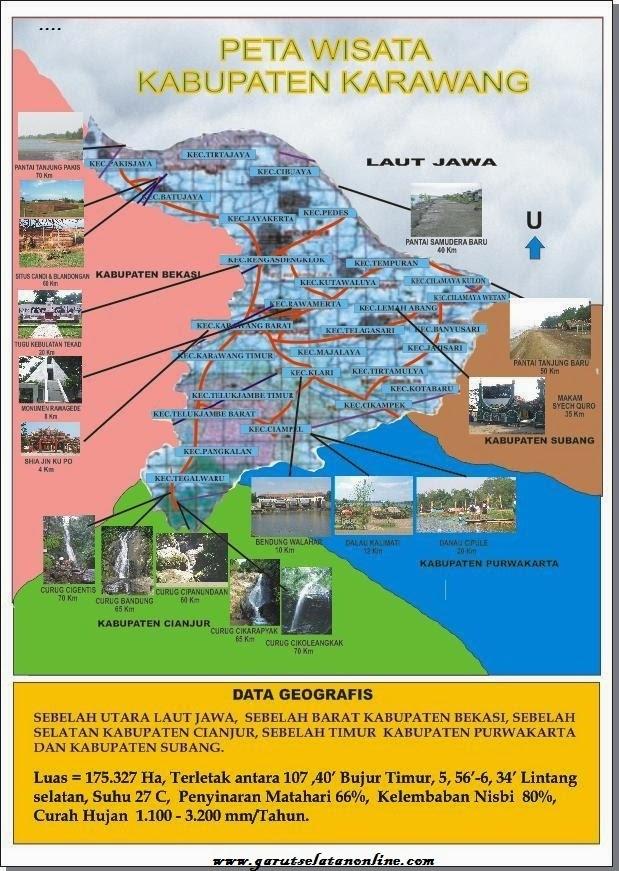 Peta Wisata Cianjur - Peta Wisata Indonesia dan Luar Negeri