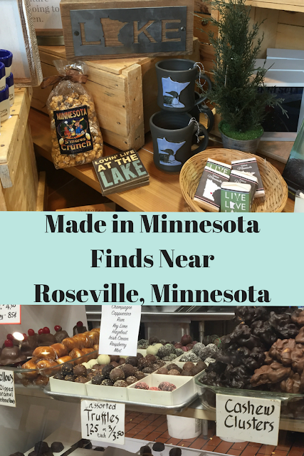 Made in Minnesota Finds Near Roseville, Minnesota